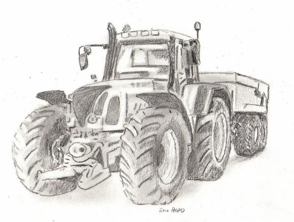 Dessins En Couleurs À Imprimer : Tracteur, Numéro : 70274 encequiconcerne Dessin De Tracteur A Colorier