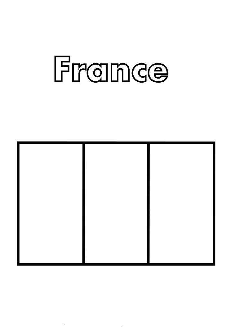 Dessins Et Coloriages: 5 Coloriages Du Drapeau De La intérieur Drapeau A Imprimer