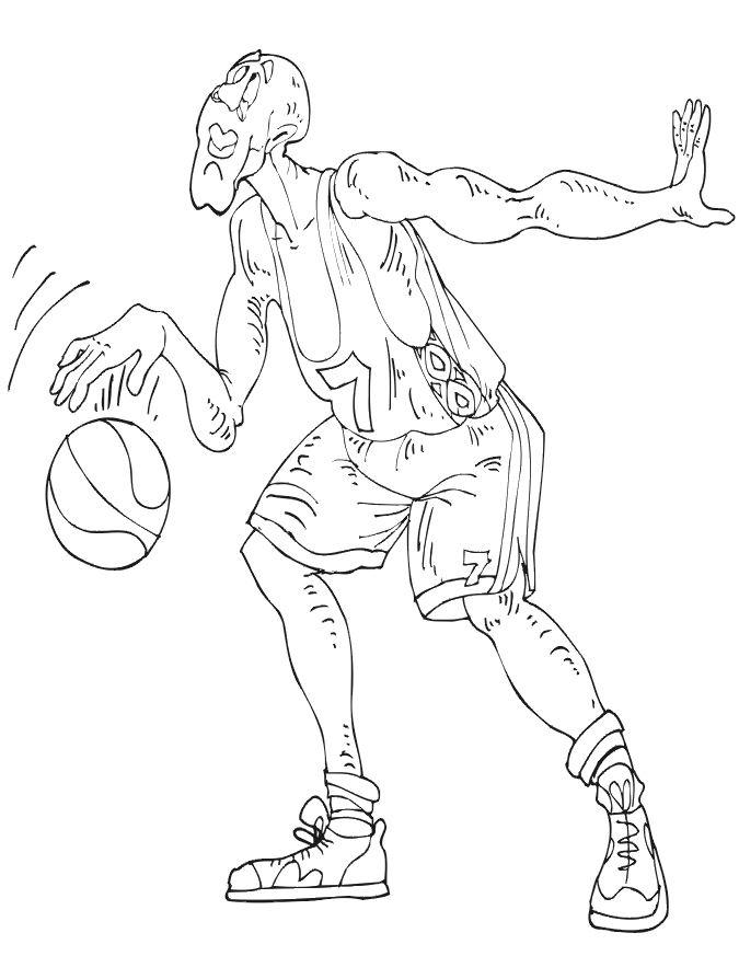 Dessins Gratuits À Colorier - Coloriage Basketball À Imprimer serapportantà 25 Coloriage De Basketball A Imprimer Gratuit