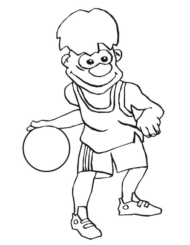 Dessins Gratuits À Colorier - Coloriage Basketball À Imprimer tout 25 Coloriage De Basketball A Imprimer Gratuit