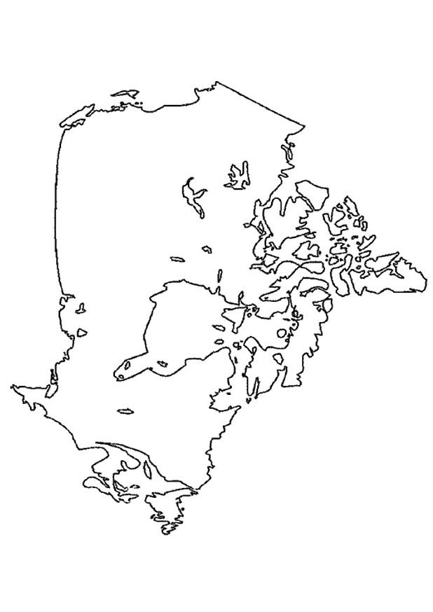 Dessins Gratuits À Colorier - Coloriage Canada À Imprimer avec Drapeau Du Canada A Colorier