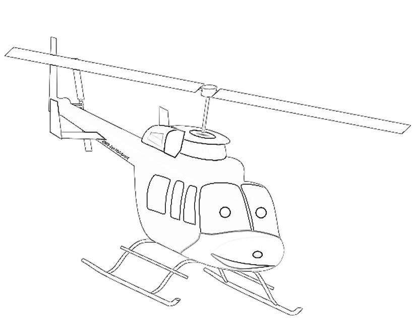 Dessins Gratuits À Colorier - Coloriage Helicoptere À Imprimer dedans Coloriage Helicoptere A Imprimer Gratuit