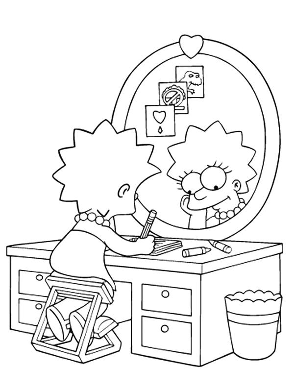 Dessins Gratuits À Colorier - Coloriage Homer Simpson À destiné Coloriage Simpson A Imprimer Gratuit