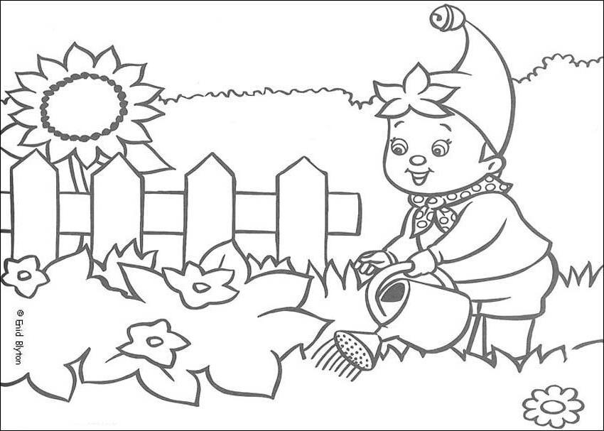 Dessins Gratuits À Colorier - Coloriage Jardin À Imprimer dedans Coloriage Nain De Jardin