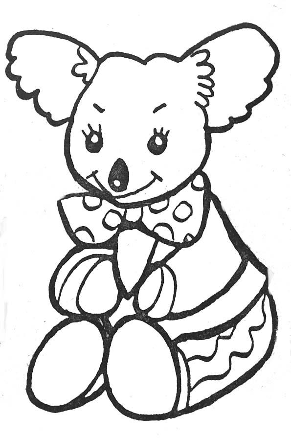 Dessins Gratuits À Colorier - Coloriage Koala À Imprimer serapportantà Coloriage Koala A Imprimer