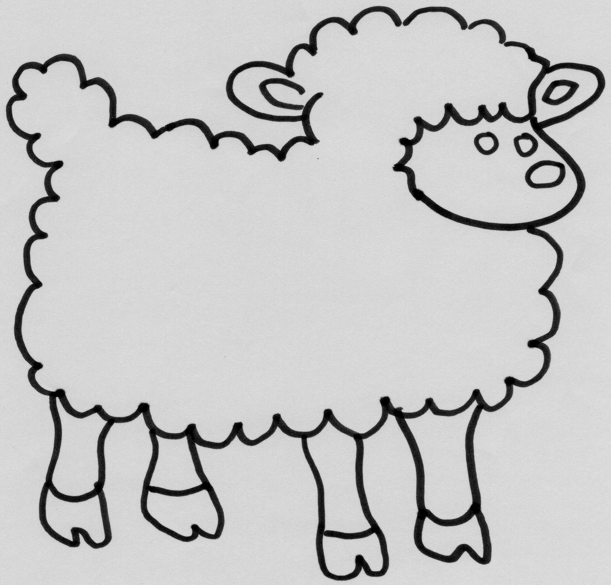 Dessins Gratuits À Colorier - Coloriage Mouton À Imprimer dedans Dessin Mouton Rigolo