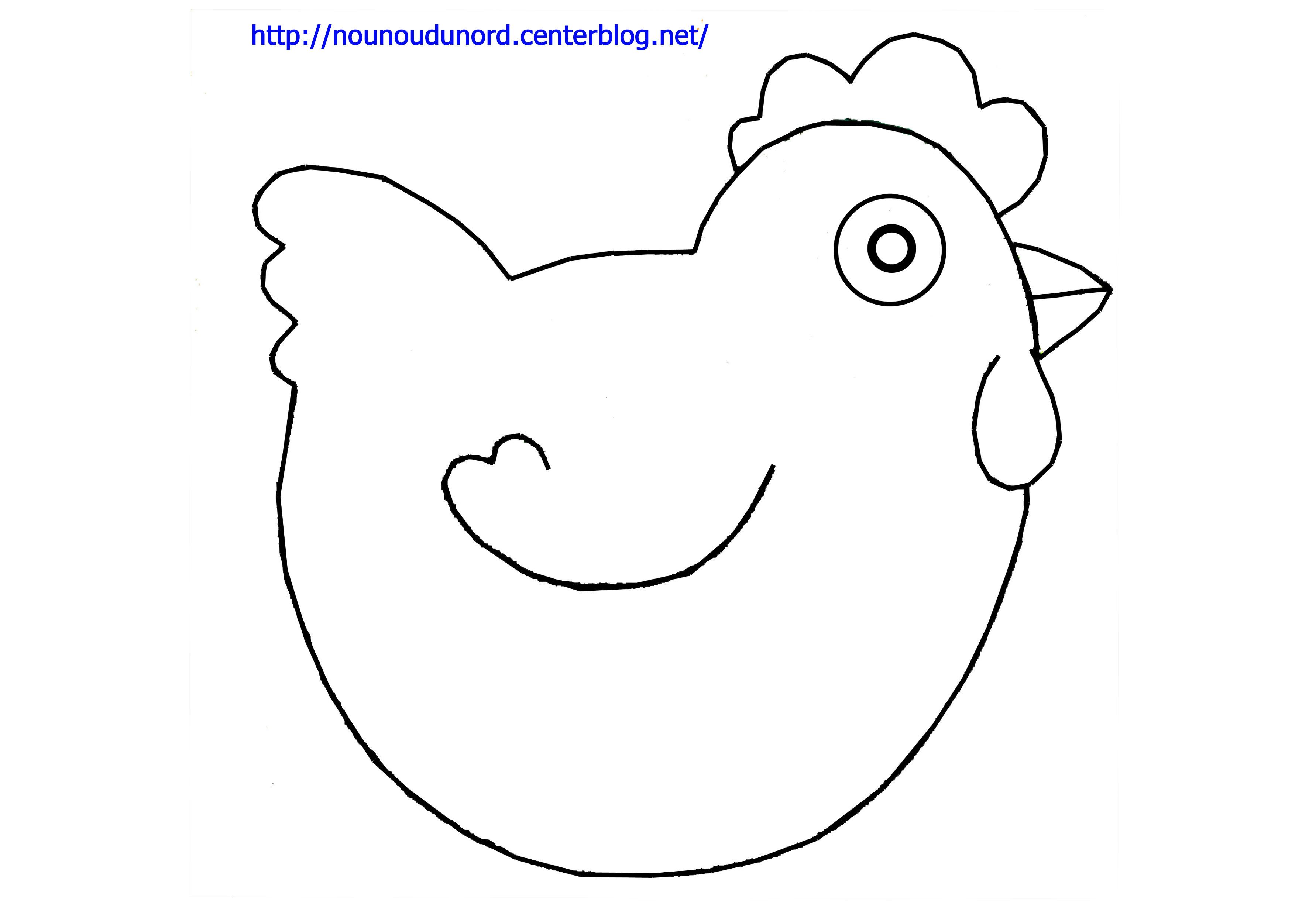 Dessins Gratuits À Colorier - Coloriage Poule À Imprimer destiné Coloriage Poule De Pâques À Imprimer Gratuit