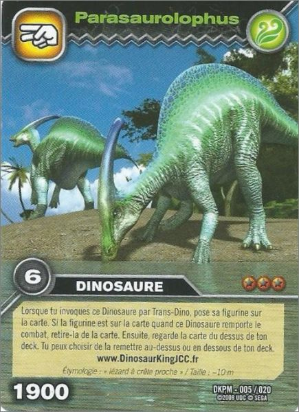 Dinosaur King - Cartes Promos - Français Animation / Bd Thèmes intérieur Jeux De Dinosaure King