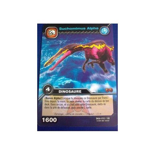 Dinosaur King - Dinosaure - Suchomimus Alpha 010/100   Rakuten pour Jeux De Dino King