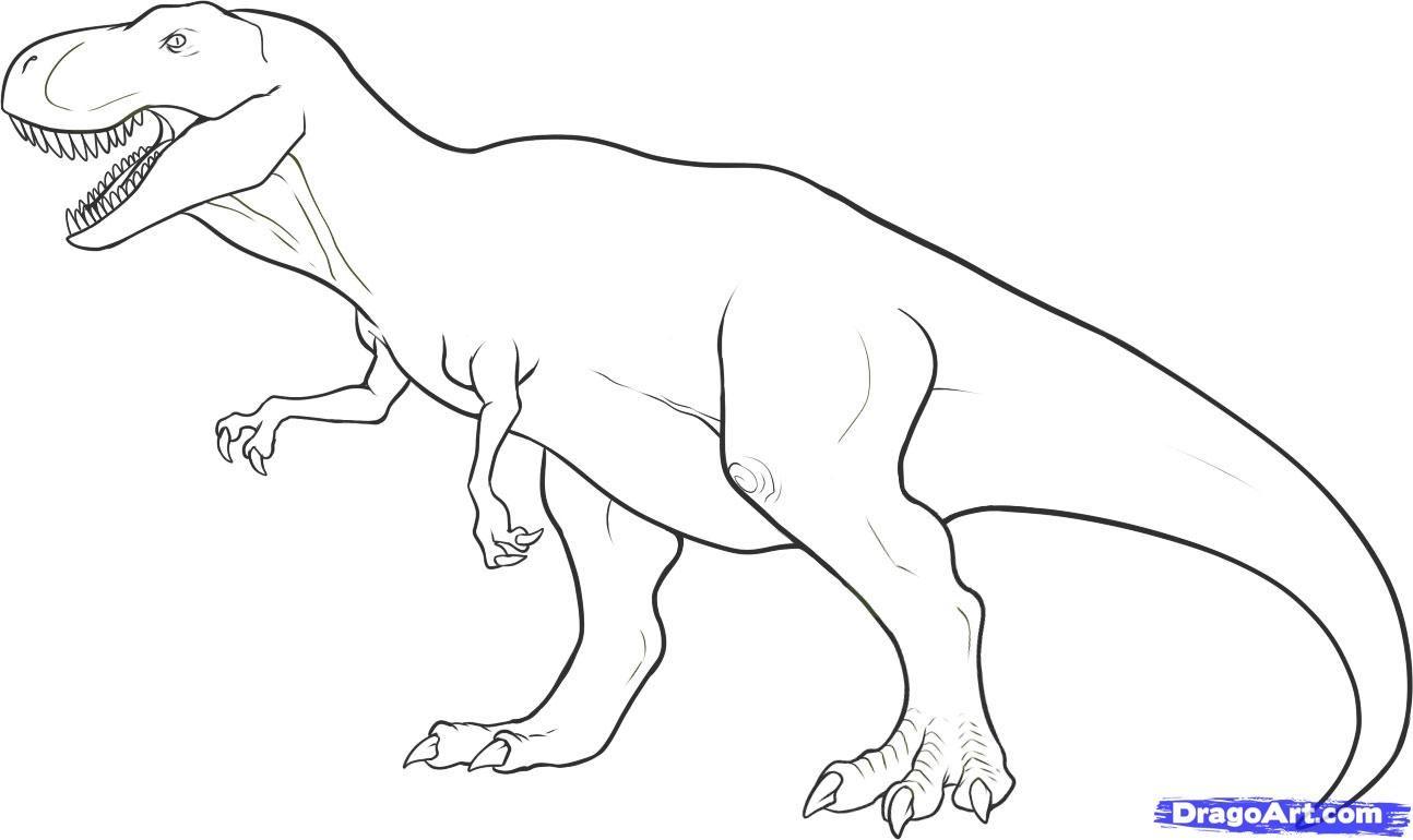 Dinosaure Coloriage Dinosaure Gratuit À Imprimer concernant Coloriage Dinosaure Tyrannosaure