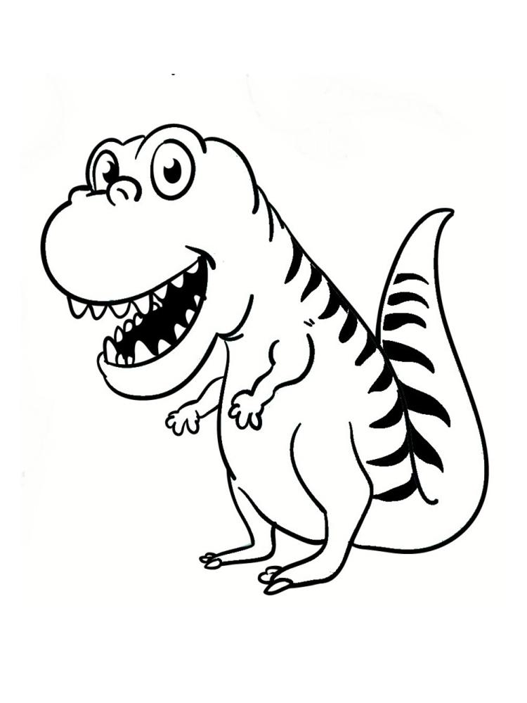 Dinosaure Dessin - Les Dinosaures En Detail pour Coloriage De Dinosaure Gratuit