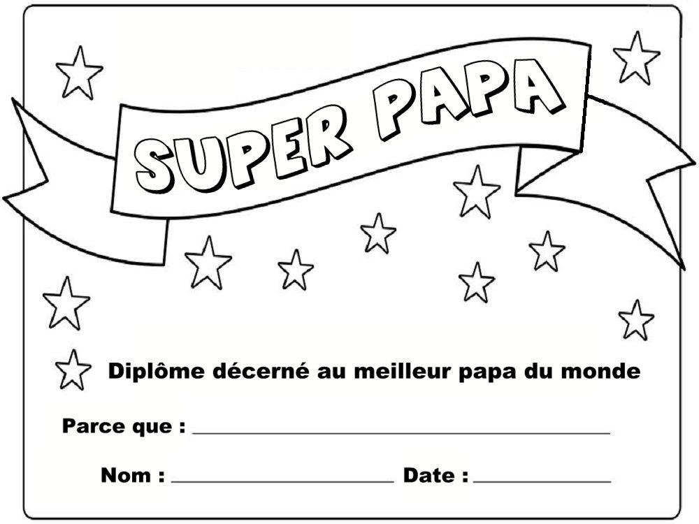 Diplome Du Meilleur Anniversaire Des 70 Ans Fruski dedans Dessin Pour Anniversaire Papa