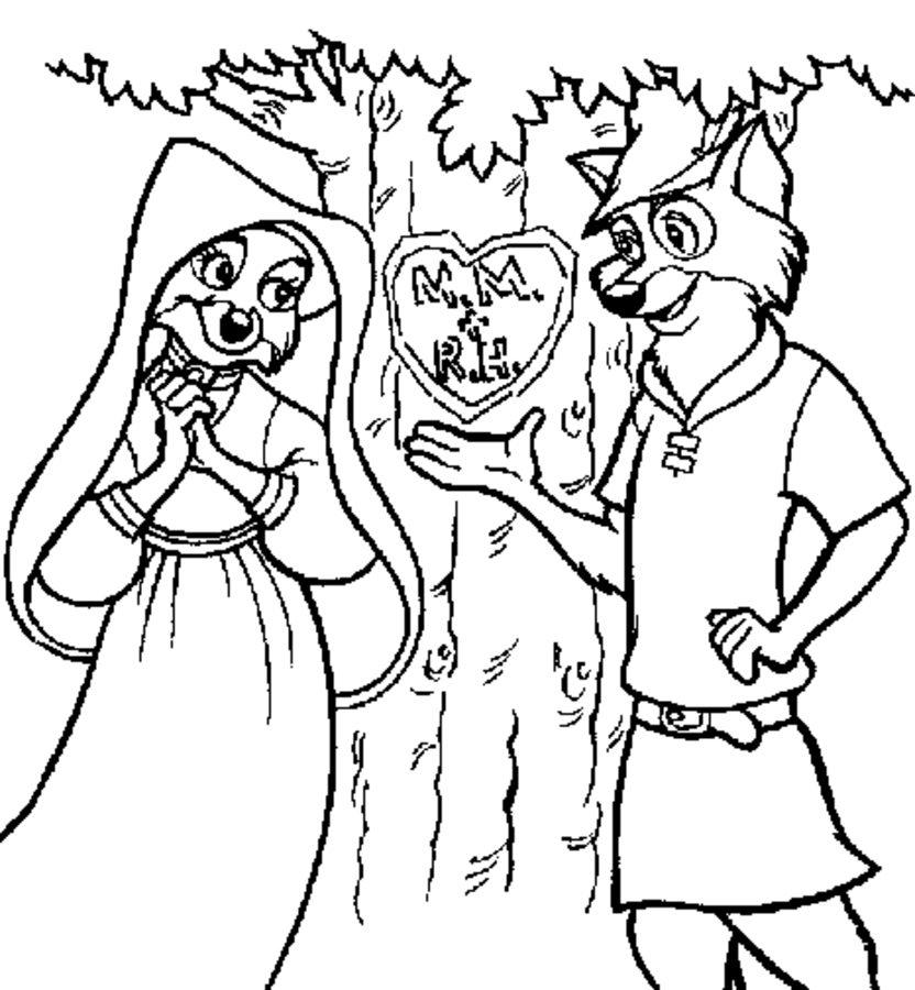 Disegni Da Colorare: Disegni Da Colorare: Robin Hood à Coloriage Robin Des Bois