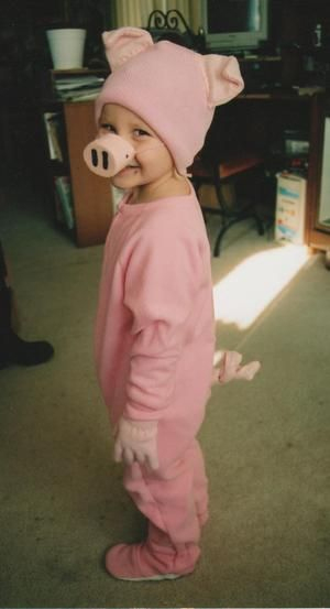 Do It Yourself: Children'S Pink Pig Halloween Costume For destiné Cochon Toy Story