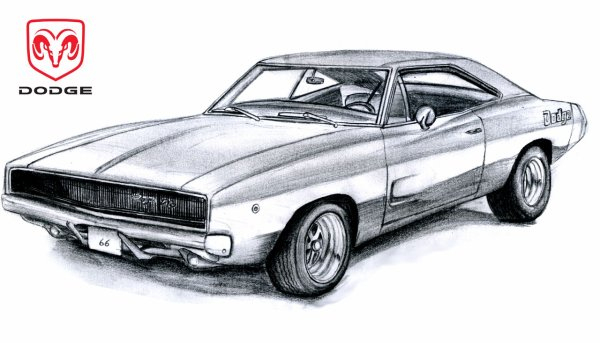 Dodge Charger - Sldesign dedans Coloriage Voiture Fast And Furious