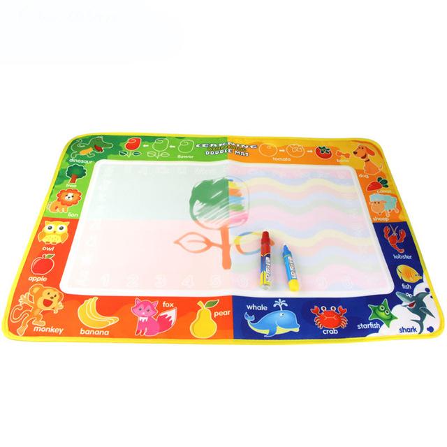 Doodle Magic Tapis | Enredada intérieur Tapis Coloriage Eau