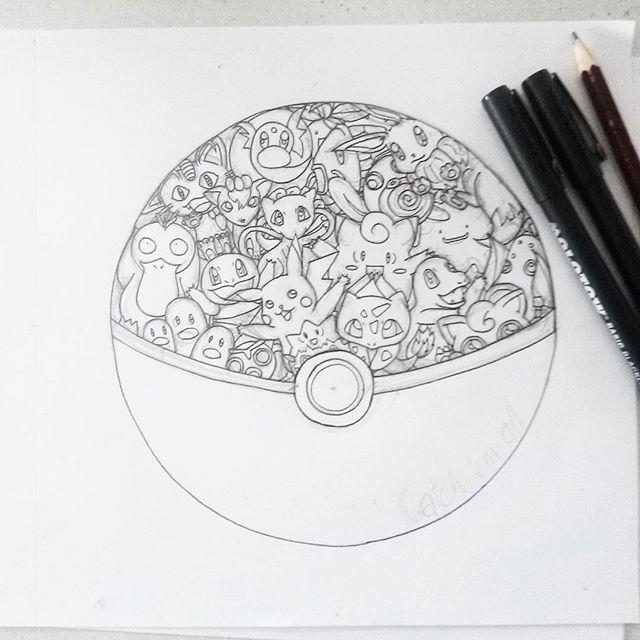 Doodles And Totoro – Part 2 | Coloriage Pokemon, Coloriage destiné Coloriage Totoro A Imprimer
