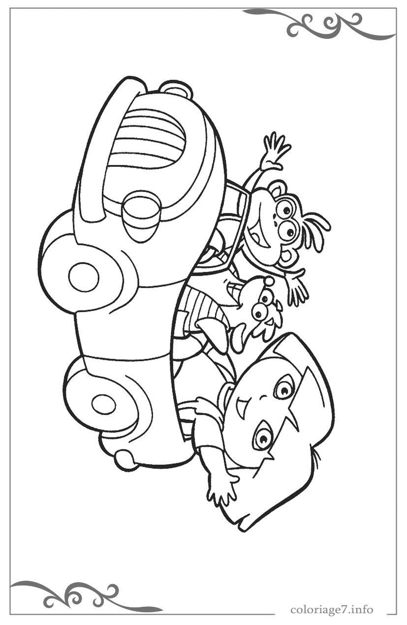 Dora L'Exploratrice Coloriages Gratuit À Imprimer Et Colorier avec Dessin A Colorier Dora Gratuit A Imprimer