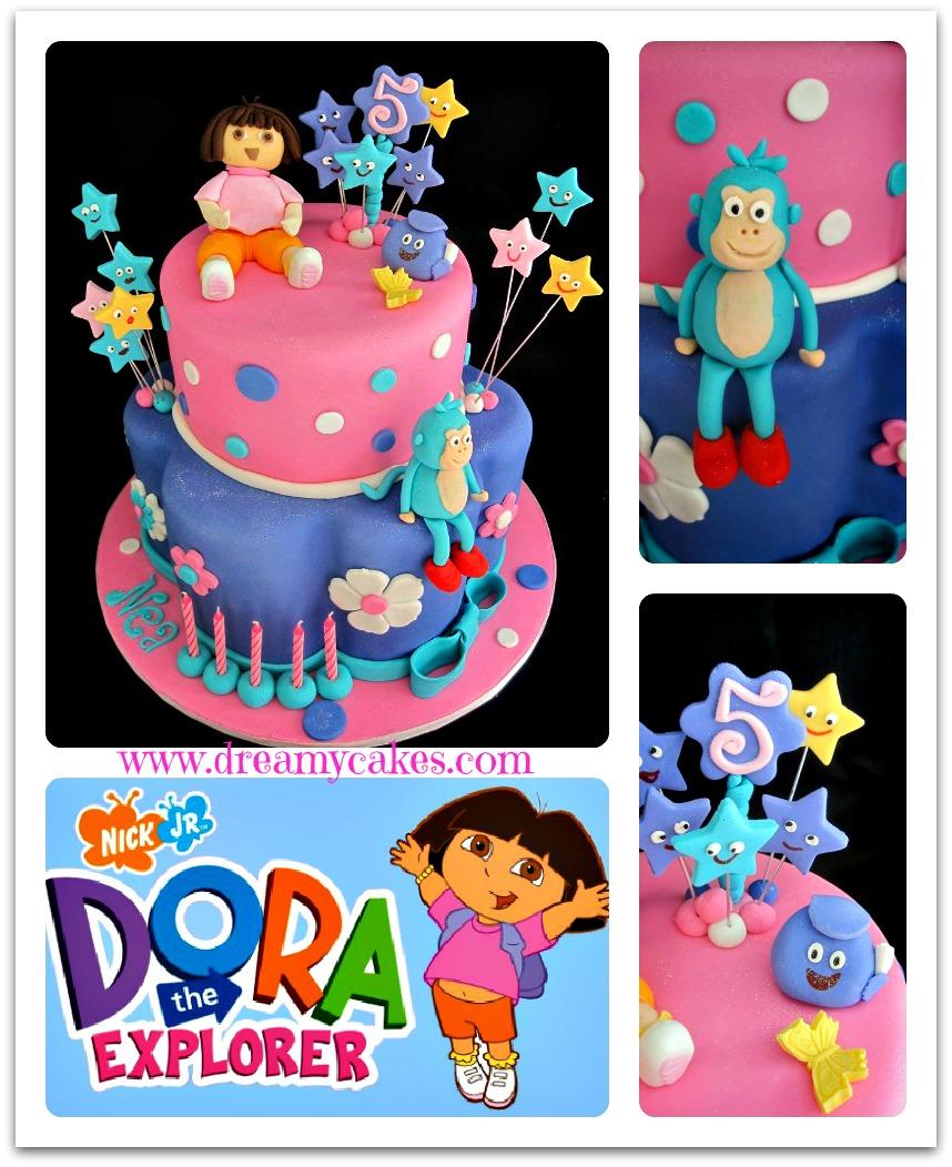 Dora The Explorer Cake - A Cake Makeover! encequiconcerne Gateau Dora