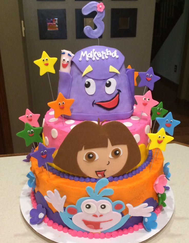 Dora The Explorer Cake | Kids Cakes | Pinterest | Dora The destiné Gateau Dora