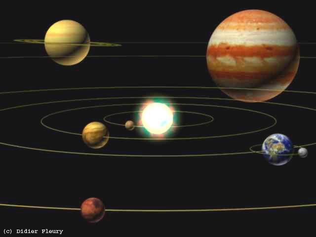 Dossiers D'Astronomie / Sommaire serapportantà Syst?Me Solaire