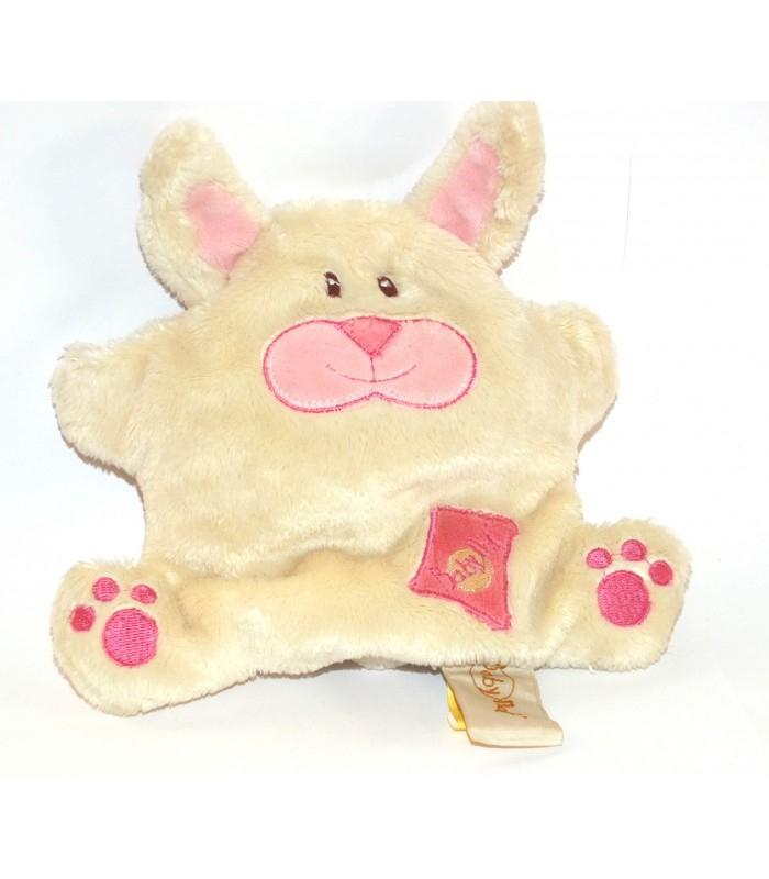 Doudou Lapin Monster Funny Blanc Billes 17 Cm Baby Nat dedans Lapin Trotro