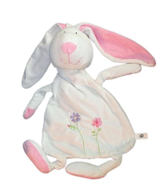 Doudou Range Pyjama Lapin Blanc Cp International 55 Cm concernant Lapin Trotro