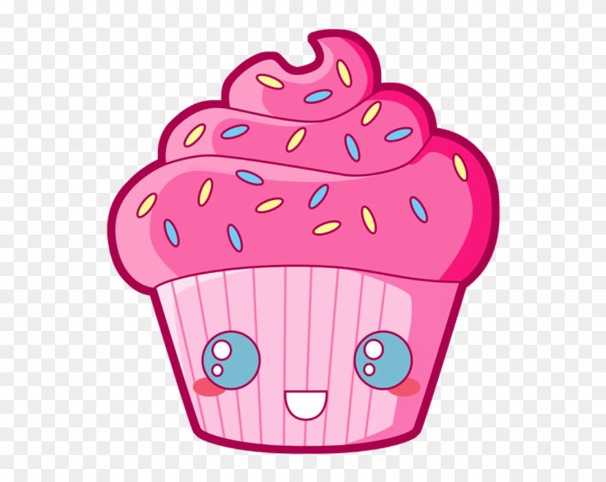 Download Candy Clipart Kawaii - Cupcake Dessin Avec Des destiné Cup Cake Dessin