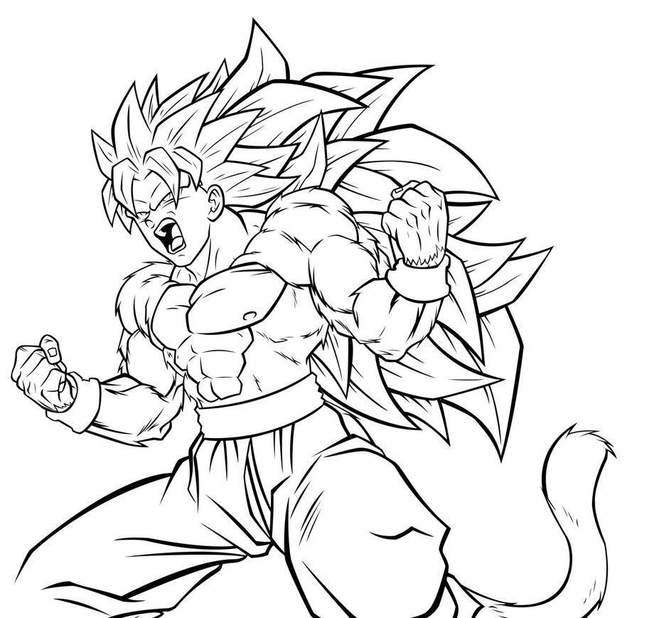 Dragon Ball Z Coloring Pages #90409, Anime | Kids Pedia serapportantà Coloriage Dragon Ball Z Sangoku