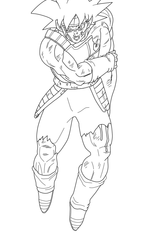 Dragon Ball Z – Waouo encequiconcerne Coloriage Vegeta A Imprimer