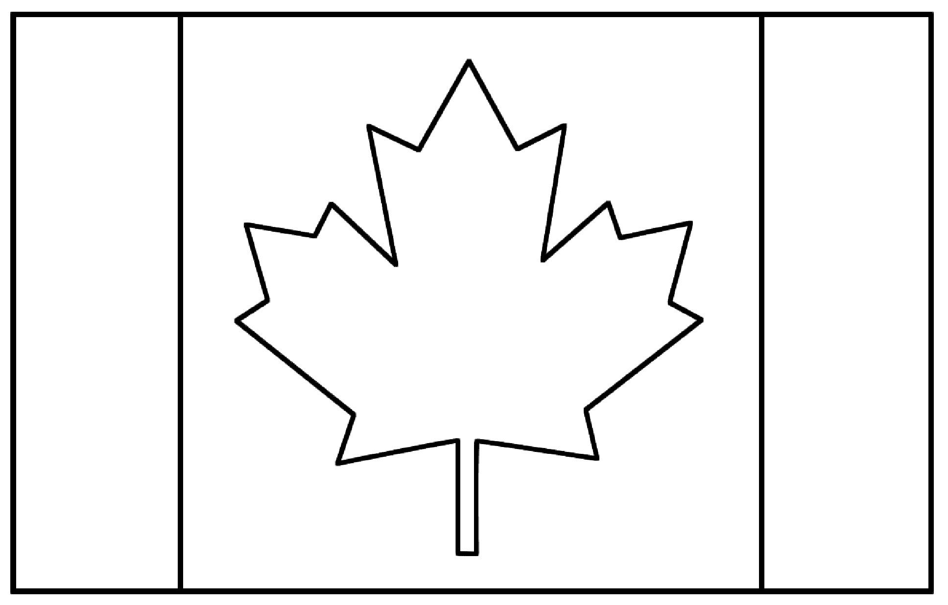 Drapeau Canada - Coloriage De Drapeaux - Coloriages Pour destiné Drapeau Brésil À Colorier