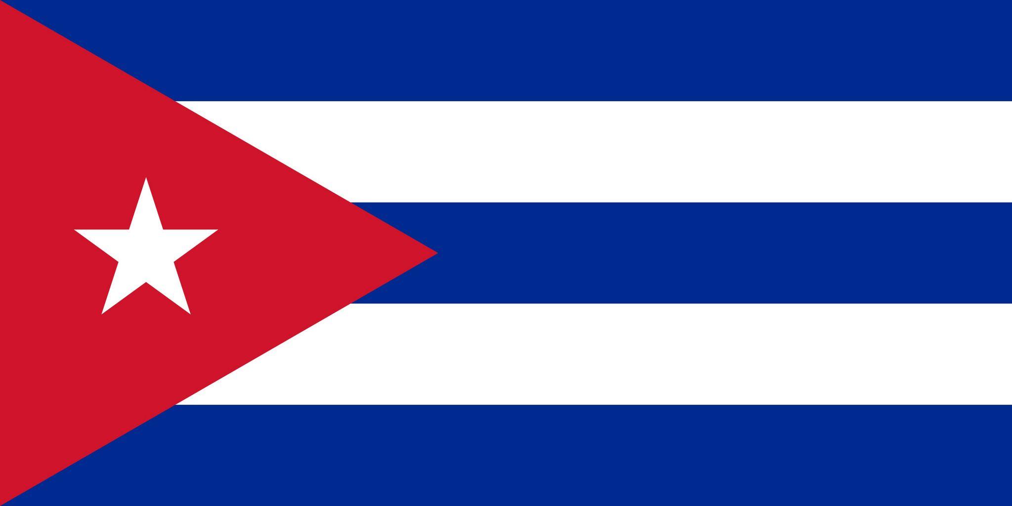 Drapeau De Cuba, Drapeaux Du Pays Cuba pour Drapeaux Du Monde À Imprimer