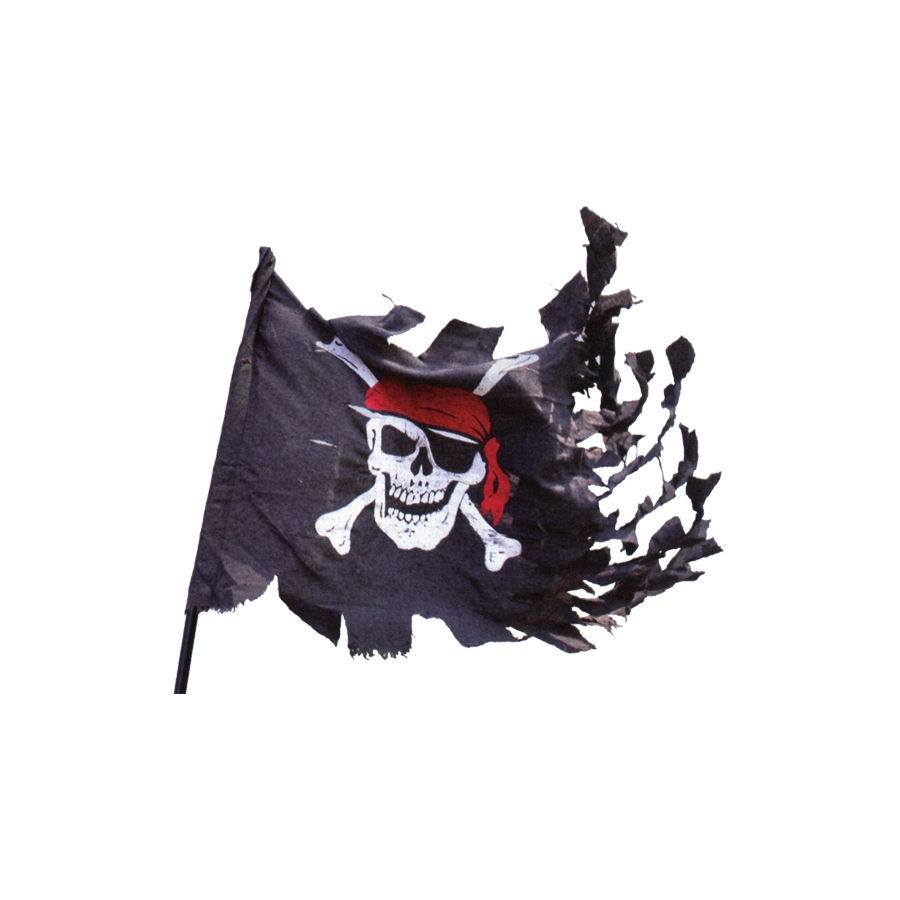 Drapeau De Pirate Usé destiné Fabriquer Un Drapeau De Pirate