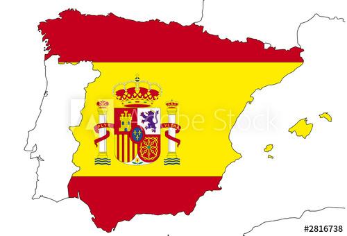 """""""Drapeau D'Espagne"""" Photo Libre De Droits Sur La Banque D dedans Dessin D Espagne"""