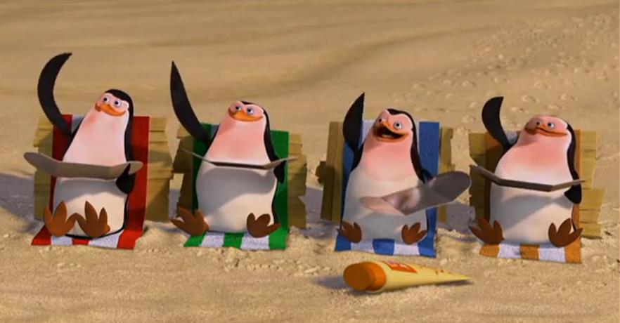 Dreamworks Review: Madagascar – Animatedkid destiné Madagascar Escape 2 Africa Argue Scene