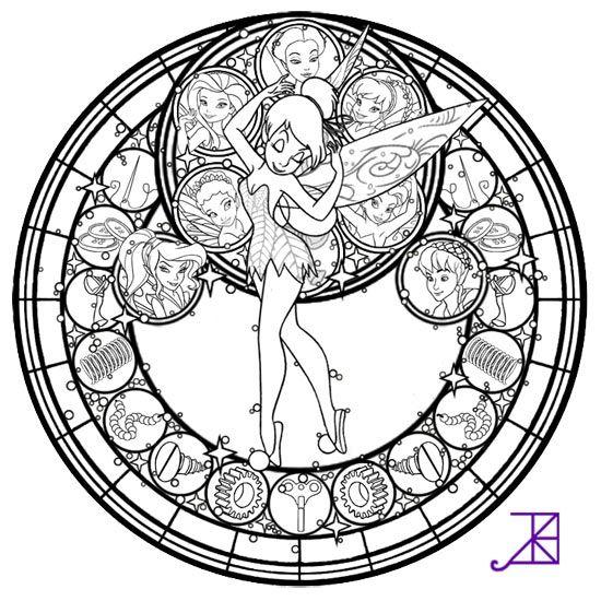 Du Coloriage Clochette À Imprimer Gratuitement | Coloriage, Coloriage Clochette, Coloriage Disney dedans Coloriage Mandala Disney À Imprimer Gratuit