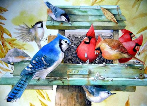 ᐅ 76 Oiseaux Images, Photos Et Illustrations Pour Facebook tout Gratuites Oiseaux