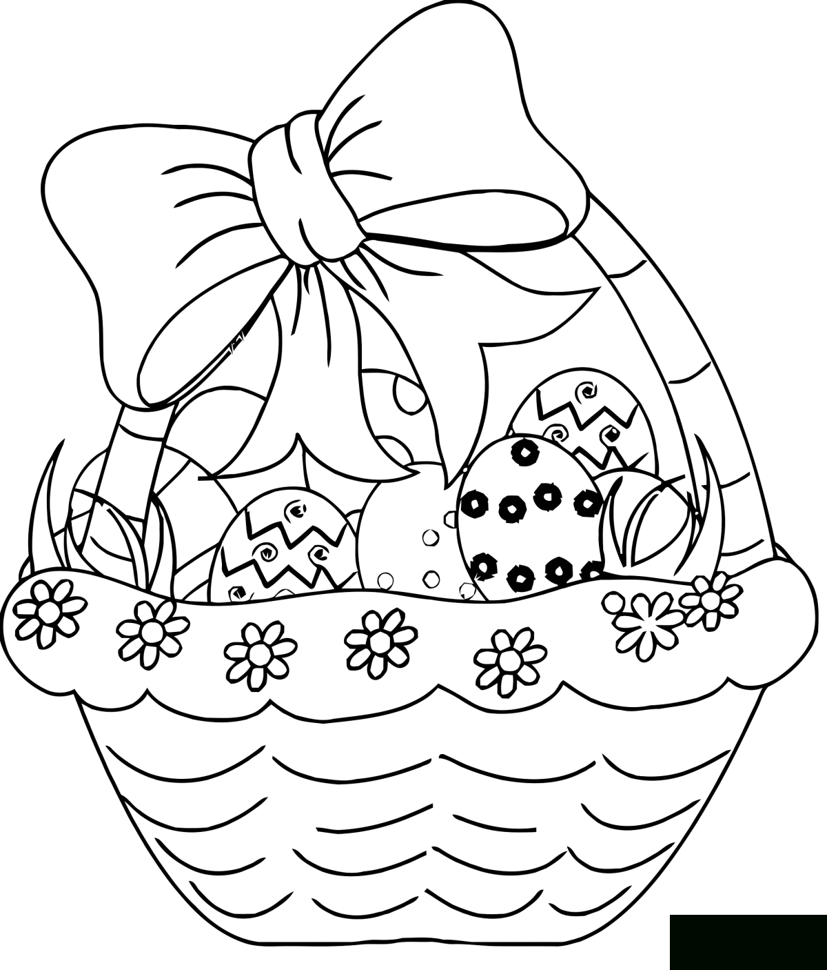 Easter For Kids - Easter Kids Coloring Pages dedans Coloriage Chocolat