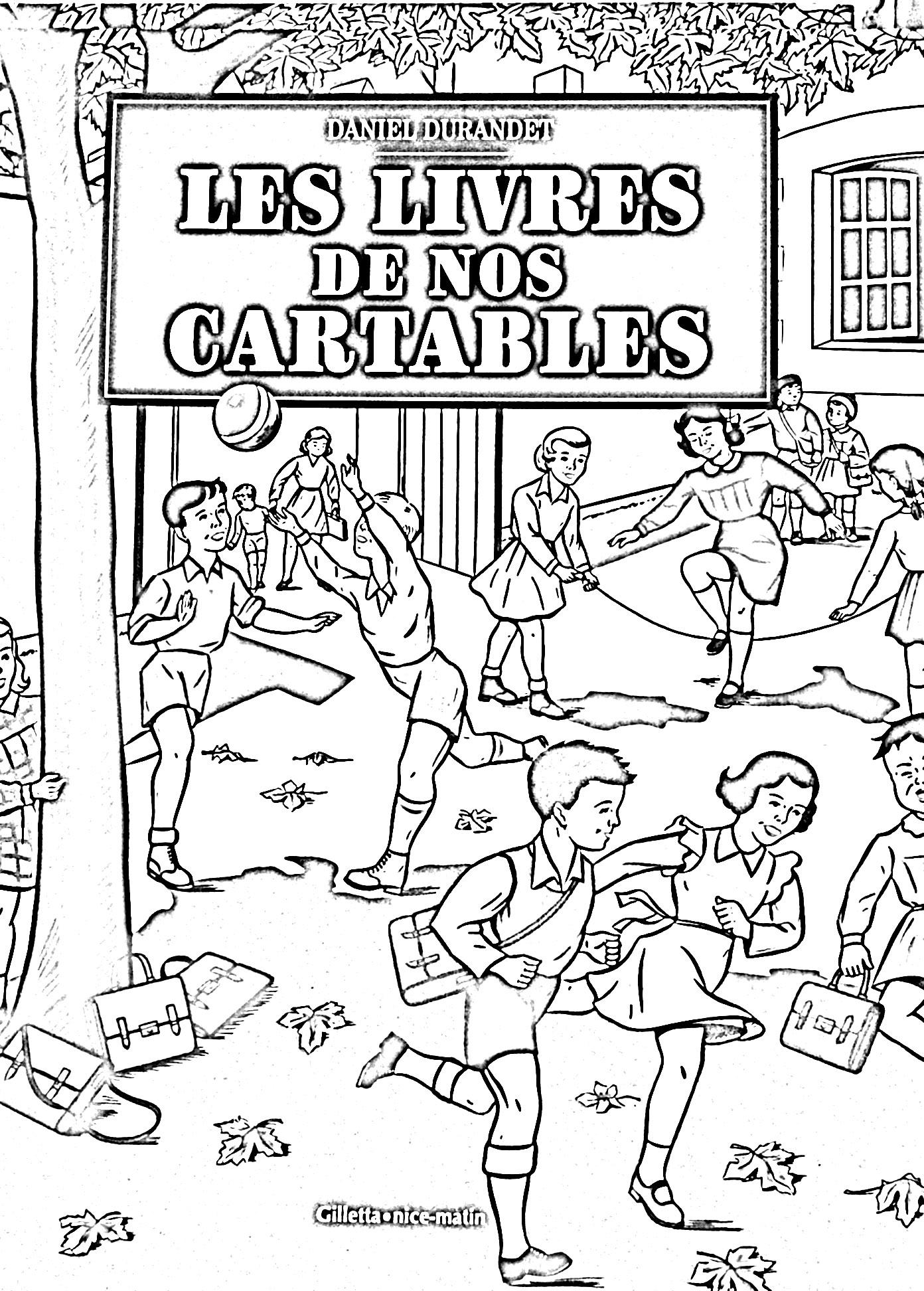 Ecole Vintage - Vintage - Coloriages Difficiles Pour Adultes tout Livre De Coloriage Adulte
