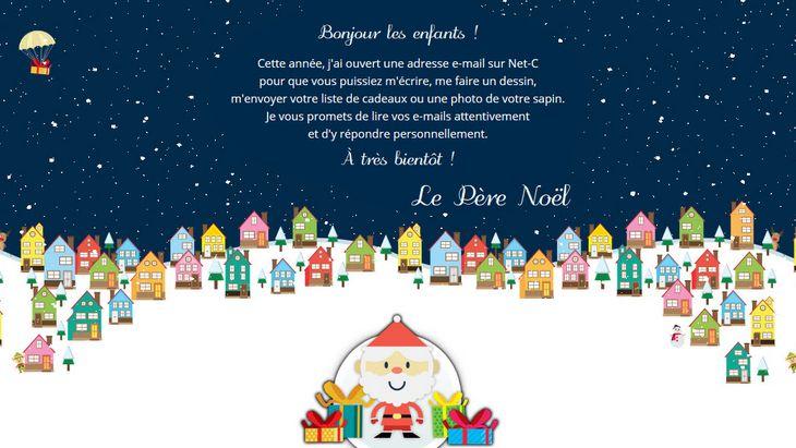 Écris Au Père Noël Sur La Messagerie Sécurisée Net-C destiné Ecrire Une Lettre Au Pere Noel 2020