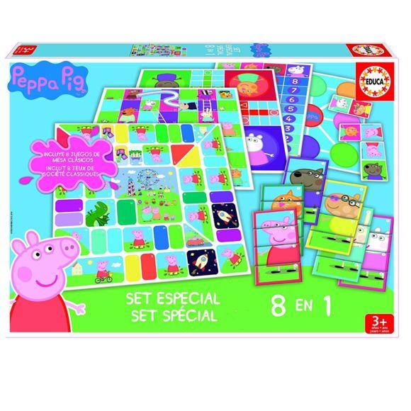 Educa - 8 Jeux En 1 Peppa Pig - Pas Cher Achat / Vente tout Jeux De Peppa Pig Gratuit
