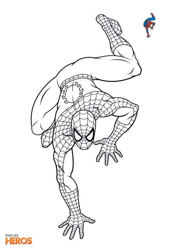 Education Image By Verna Calvert | Cartoon Coloring Pages encequiconcerne Dessin A Imprimer Spiderman 4