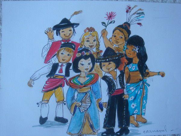 Enfants De Tout Pays - Image Des Enfant De Tout Pays serapportantà Dessin De Tout Les Animaux Du Monde