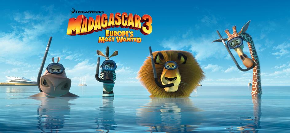 Enjoy The Movies - Royal Caribbean International tout Dreamworks Madagascar Movie