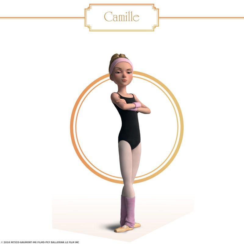 Épinglé Par Crafty Annabelle Sur Leap/Ballerina Movie dedans Dessin Animé Danseuse