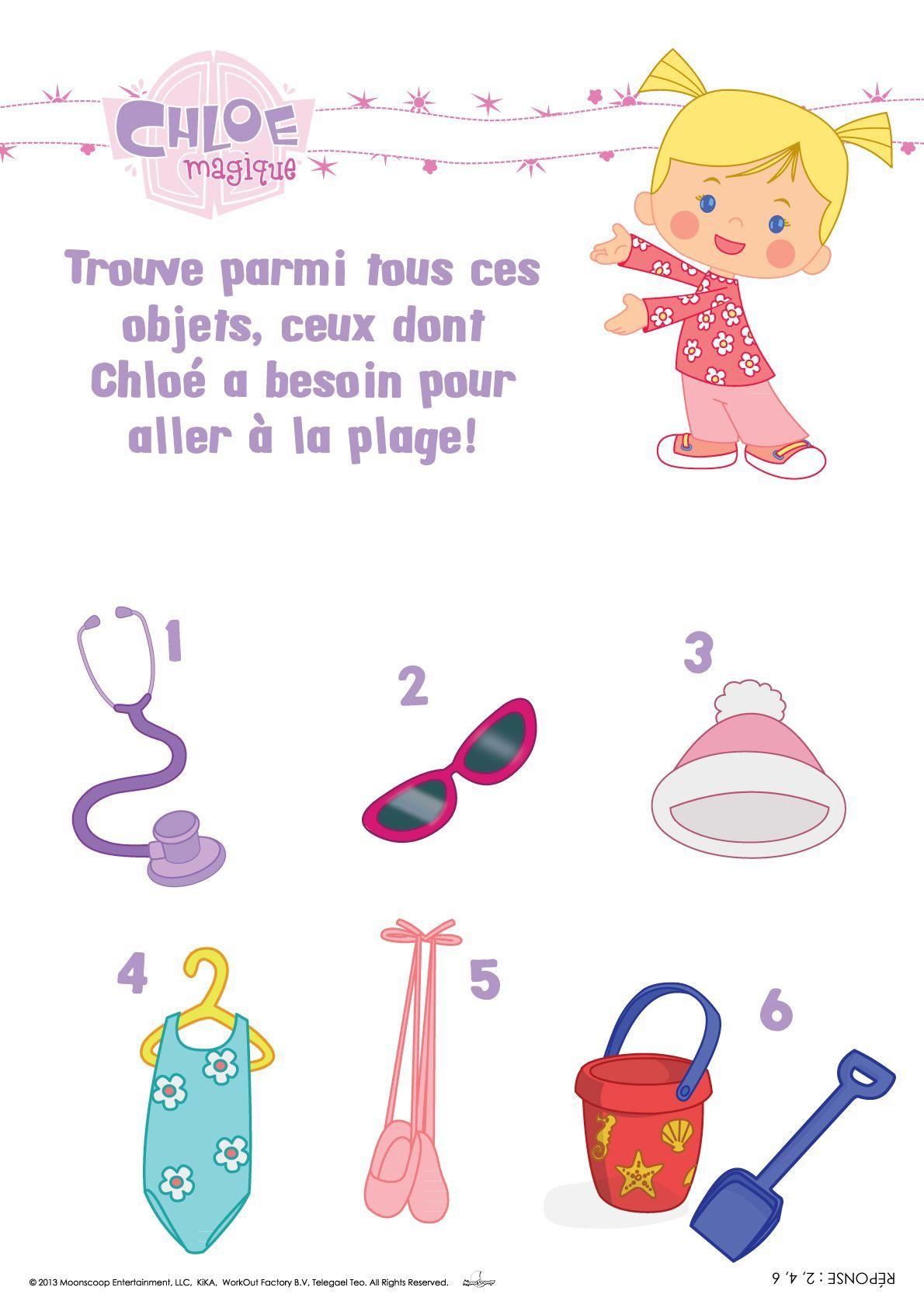 Épinglé Par Lmi Kids Sur Chloe'S Closet / Chloé Magique tout Coloriage Chloé Magique