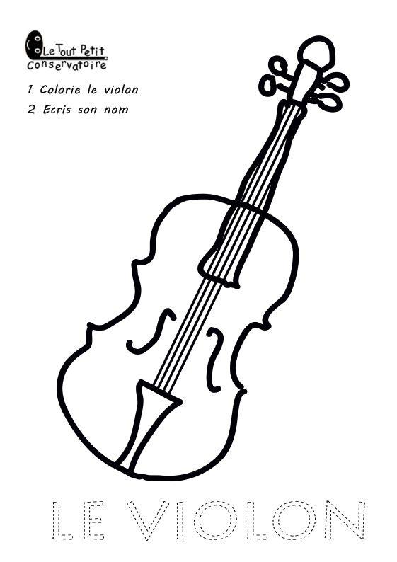 Épinglé Sur Dessins Instruments De Musique, Compositeurs dedans Dessin D Instrument De Musique