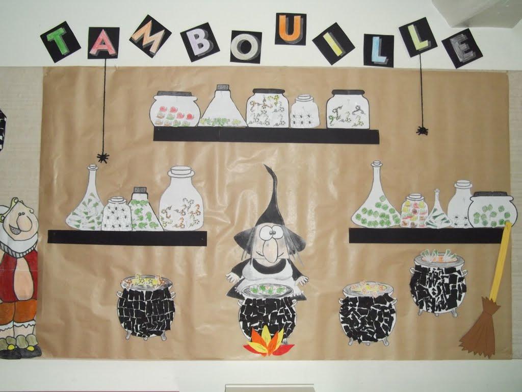 Épinglé Sur Halloween Intérieur La Sorciere Tambouille encequiconcerne La Sorciere Rabounia