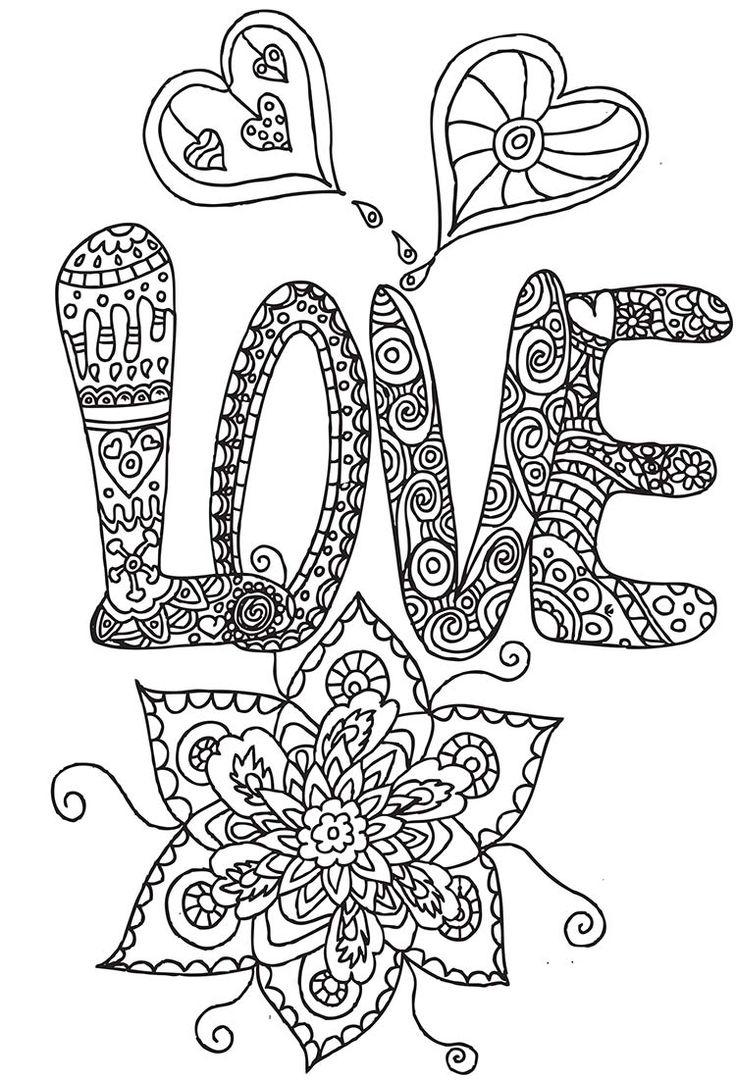 Épinglé Sur Hearts To Color à Coloriage Anti Stress