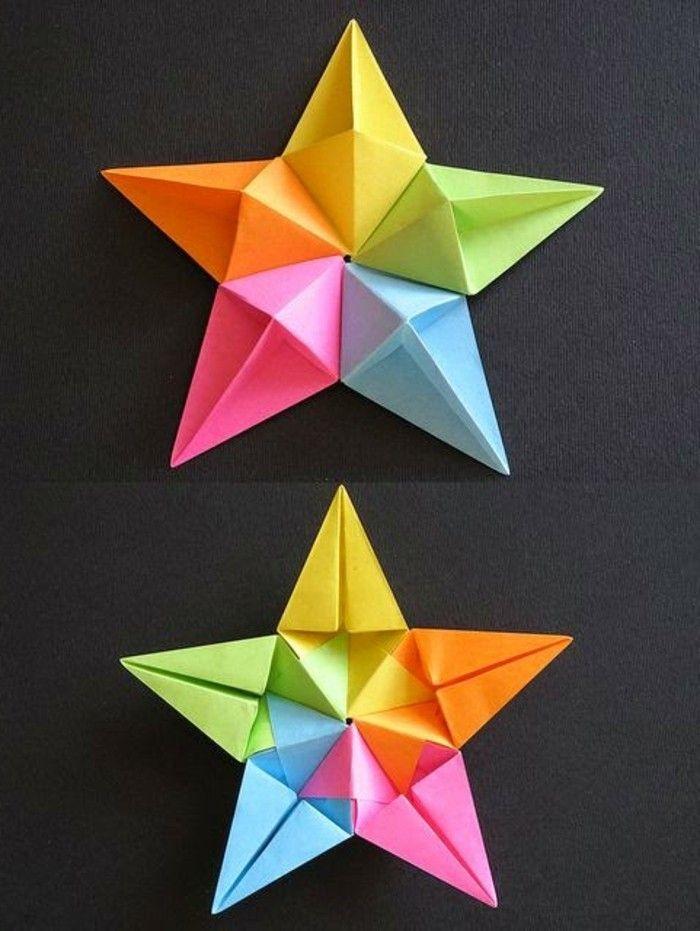 Etoile De Noel En Papier - 80 Idées Qui Vont Vous Charmer tout Faire Du Bricolage En Papier